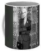 Cool Blonde Bw Palm Springs Coffee Mug