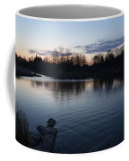 Cool Blue Ripples - Lake Shore Eventide Coffee Mug