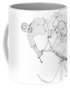 Cool Bmx Drawing Coffee Mug
