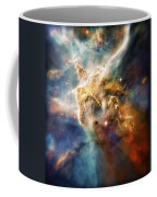 Cool Carina Nebula Pillar 4 Coffee Mug by Jennifer Rondinelli Reilly - Fine Art Photography