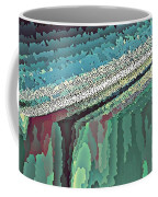 Cool Colors Abstraction Coffee Mug