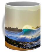 Cool Curl Coffee Mug by Sean Davey
