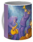 Cool Jazz Trio Coffee Mug by Pamela Allegretto