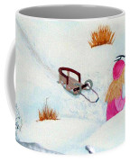 Cool  Winter Friend - Snowman - Fun Coffee Mug