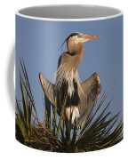 Great Blue Heron Air Conditioning Coffee Mug