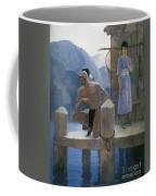 Cooper: Deerslayer, 1925 Coffee Mug