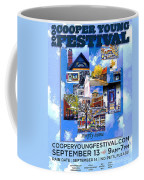 Cooper Young Festival Poster 2008 Coffee Mug