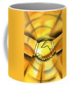 Cooperation Coffee Mug by Leon Zernitsky