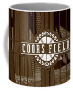 Coors Field - Colorado Rockies 15 Coffee Mug by Frank Romeo