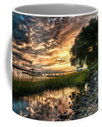 Coosaw Plantation Sunset Coffee Mug