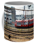 Copenhagen Commuter Train Coffee Mug