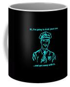 Copkickingass Aquamarine Coffee Mug