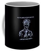 Copkickingass Cyan Coffee Mug