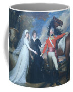 Copley's Colonel William Fitch And His Sisters Sarah And Ann Fitch Coffee Mug