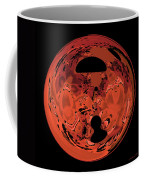 Copper Disk Abstract Coffee Mug