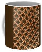 Copper Electron Micrograph Grid Coffee Mug