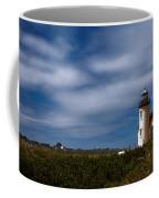 Coquille River Lighthouse Coffee Mug by Joan Carroll
