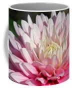 Coral Dahlia Coffee Mug
