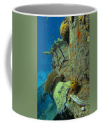 Coral Growth On A Ship Wreck Coffee Mug