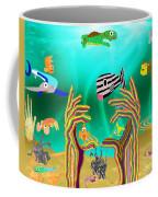 Coral Hands Coffee Mug