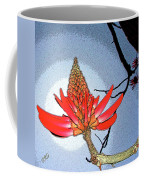 Coral Tree Coffee Mug by Ben and Raisa Gertsberg