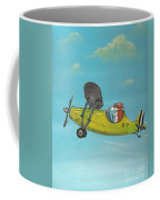 Corgi Aviator Coffee Mug