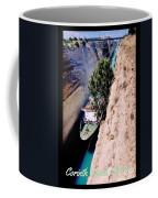 Corinth Canal Poster Coffee Mug