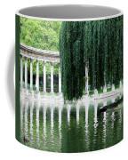 Corinthian Colonnade And Pond Coffee Mug