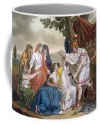 Coriolanus And His Mother Volumnia Coffee Mug