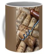 Corkscrew On Corks Coffee Mug by Garry Gay