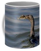 Cormorant With Fish Coffee Mug