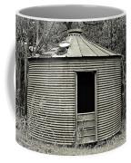Corn Crib In Monochrome Coffee Mug