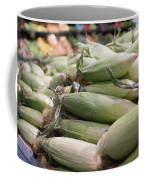 Corn On Display At Farmers Market Coffee Mug