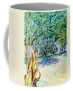 Corn Stalk And Apple Tree  Autumn Lovers Coffee Mug