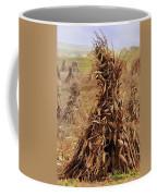 Corn Stalk Bales Coffee Mug by Marcia Colelli