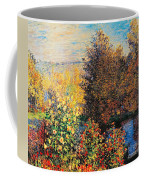 Corner Of Garden In Montgeron Coffee Mug