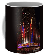 Corner Of Radio City Music Hall Coffee Mug
