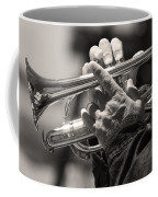 Cornet In Sepia Coffee Mug