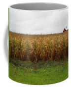 Cornfield And Farmhouse Coffee Mug