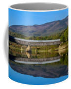Cornish Windsor Covered Bridge Coffee Mug by Edward Fielding