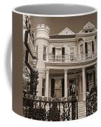 Cornstalk Fence Hotel Sepia Coffee Mug
