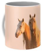 Corona And Cheyenne At Dawn Coffee Mug