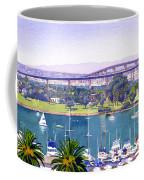 Coronado Bay Bridge Coffee Mug by Mary Helmreich