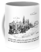 Corporate Leaders Gather In A Field Coffee Mug