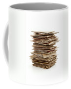 Corrugated Fiberboard Coffee Mug by Fabrizio Troiani