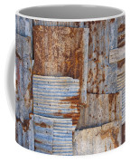 Corrugated Iron Background Coffee Mug