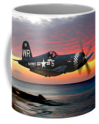 Corsair At Sundown Coffee Mug
