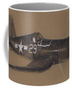 Corsair Triple Ace Coffee Mug by Wade Meyers