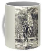 Cortez Claiming Mexico For Spain, 1519 Coffee Mug
