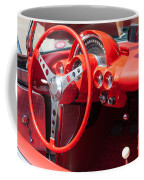 Corvette Dashboard Coffee Mug
